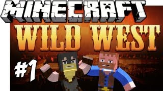 ★ Minecraft: WILD WEST SURVIVAL ★ Ep.1, Dumb and Dumber