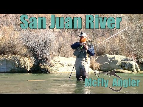 Winter MIDGE Fly Fishing On the San Juan River Tailwater for Trout - McFly Angler Episode 1
