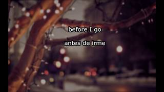 American Authors Before I go Español + Lyrics