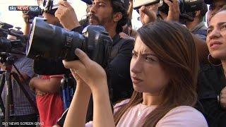حملة لمناهضة الاعتداء على الصحفيين بتونس