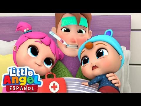 ¡Papi Nosotros Te Vamos A Cuidar! | Canciones Infantiles | Little Angel En Español