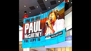 paul mccartney one on one   getting back to msg september 15th 2017