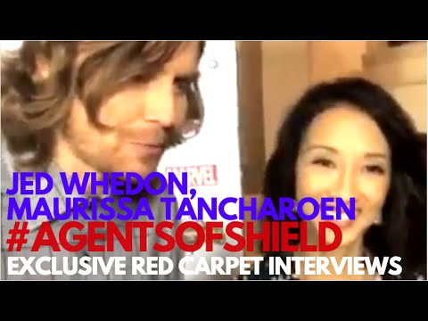 Jed Whedon, Maurissa Tancharoen interviewed at S4 Premiere for Marvel's Agents of SHIELD