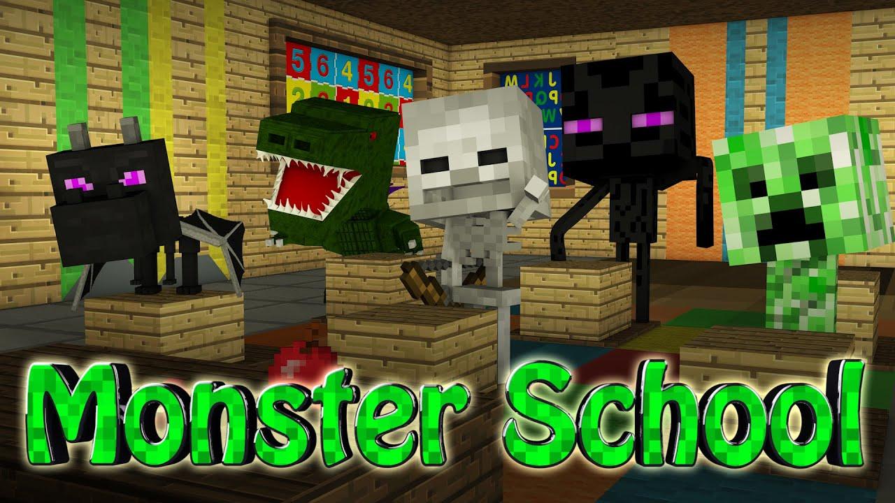 Minecraft | BABY MONSTER SCHOOL MOD Showcase! (Baby Mod, Monster ...