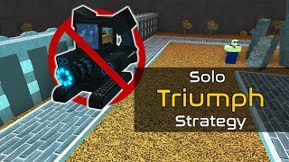 Solo Zedless Triumph Strategy [A Little Outdated] | Tower Battles [ROBLOX]