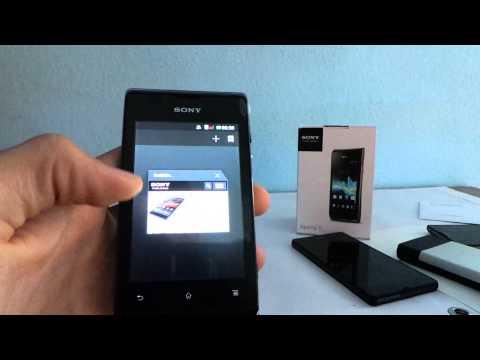 Sony Xperia E Dual bemutató videó | Tech2.hu