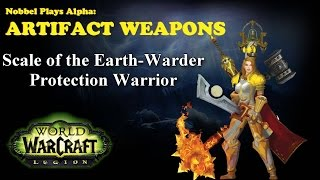 Scale of the Earth-Warder - Warrior Artifact - Legion Alpha [LORE SPOILERS]