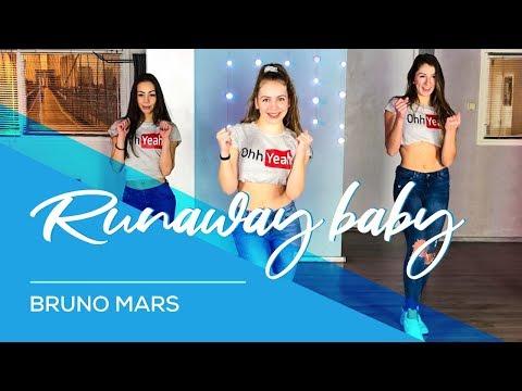 Runaway Baby - Bruno Mars - Easy Fitness Dance Video - Choreography