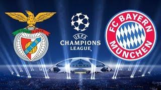 Benfica x Bayern de Munique - 13/04/2016 | UEFA Champions League 2015/2016 - 2° jogo [FIFA 16] | Rodrigo Gamer 18 - GAMEPLAY'S DE PES 2017 E FIFA 17