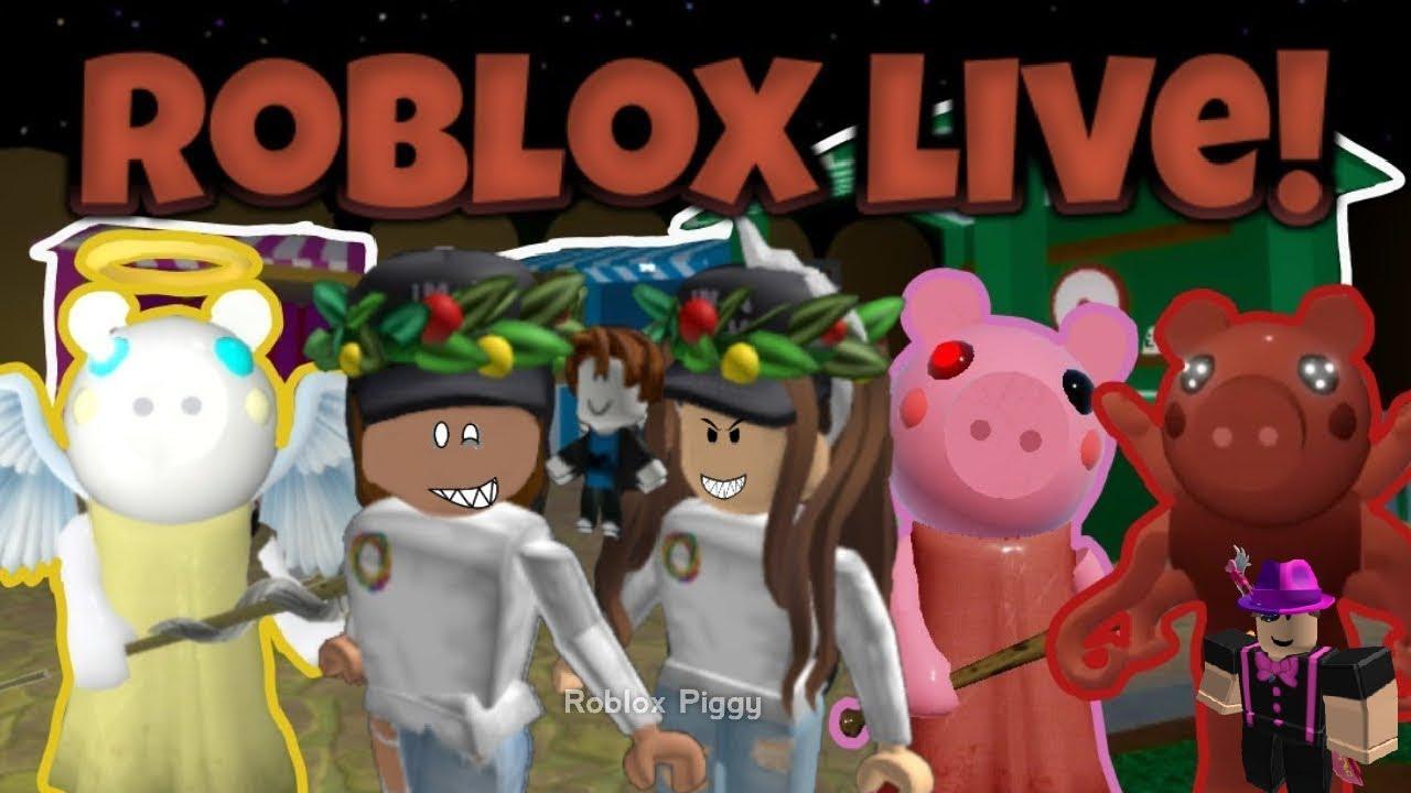 GRANIE W PIGGY/GAME IN PIGGY - ROBLOX LIVE 2020