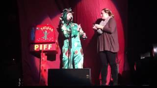 Brigid with Piff the Magic Dragon