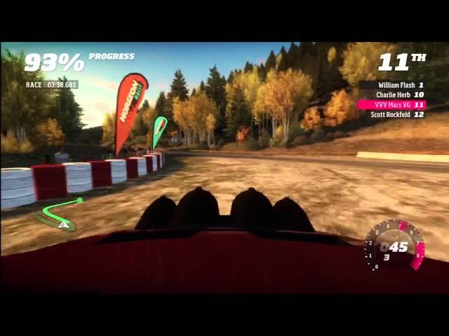 Forza Horizon Rally Montano Plains stage 4