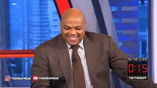 """Shaq Gets PISSED At Chuck For """"Disrespecting Him"""" and Ernie Loses It!"""