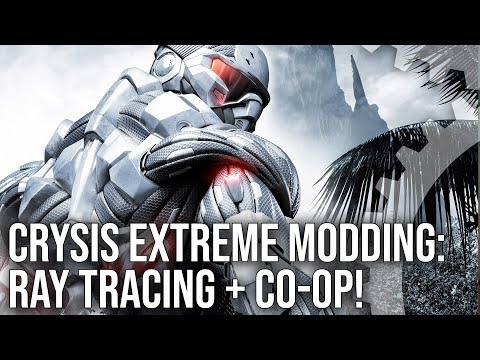 Crysis Ray Tracing + Co-Op Gameplay: Mod Insanity Liveplay!
