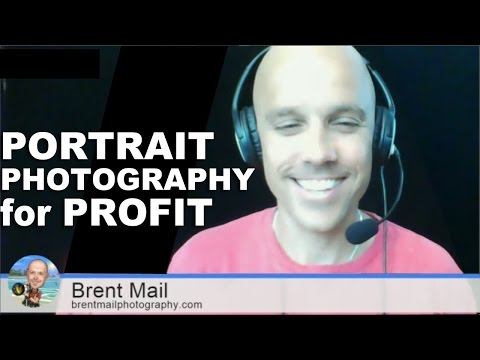 Portrait Photography for Profit - Interview with Brent Mail
