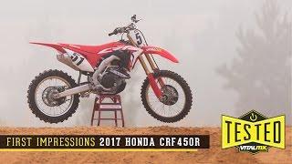 ReviewFirst Impressions 2017 Honda CRF450R - Vital MX