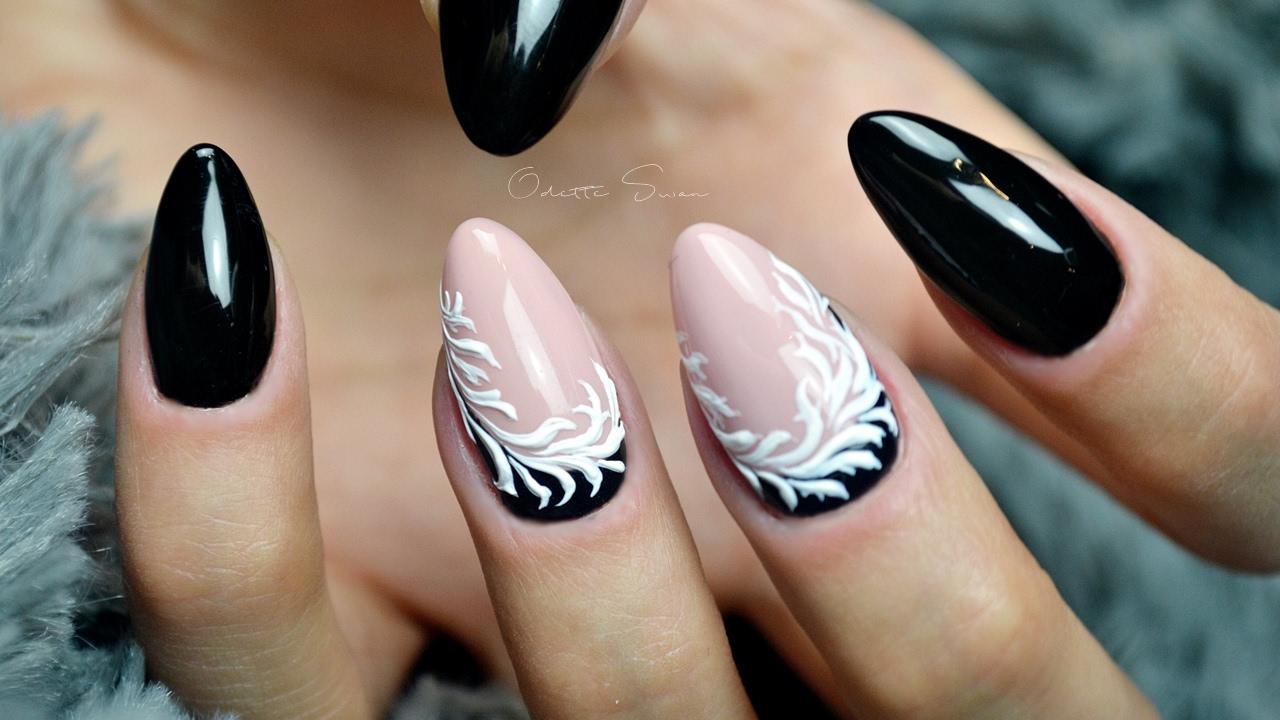 Pasta Gel Żel Dekoracyjny Nail Art Indigo Easy Tutorial