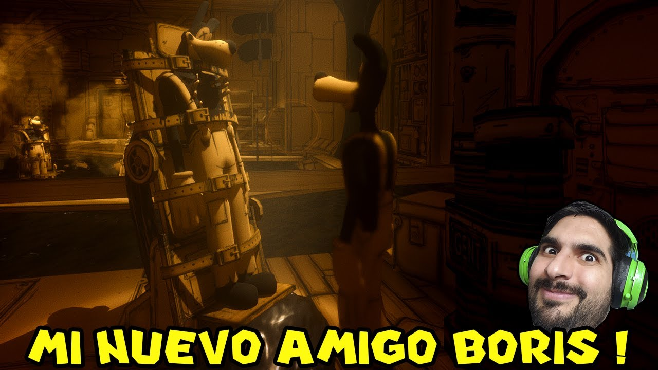 MI NUEVO AMIGO BORIS !! - Bendy And The Ink Machine con Pepe el Mago (#3)