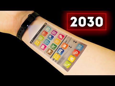 Как будет выглядеть ваш смартфон в 2030 году
