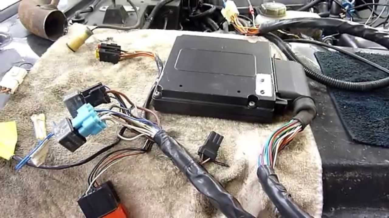 Rover 39 V8 Hotwire Efi Cpu Wiring O2 Sensors Distributor Etc 1993 Range Diagram Youtube