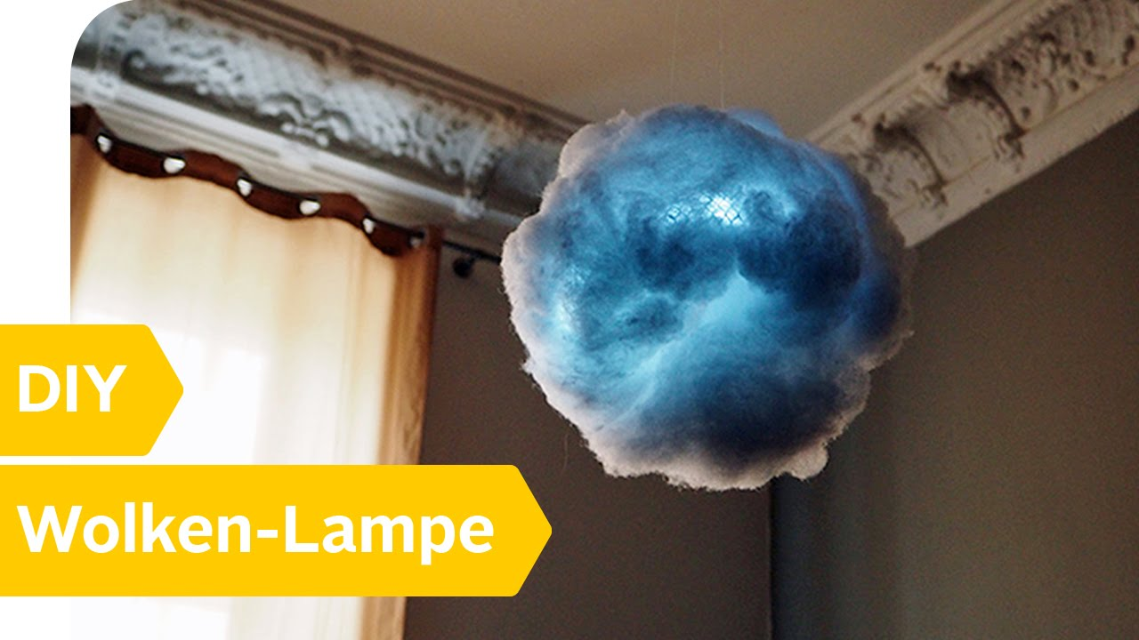 diy anleitung wolken lampe einfach selber basteln roombeez powered by otto youtube. Black Bedroom Furniture Sets. Home Design Ideas