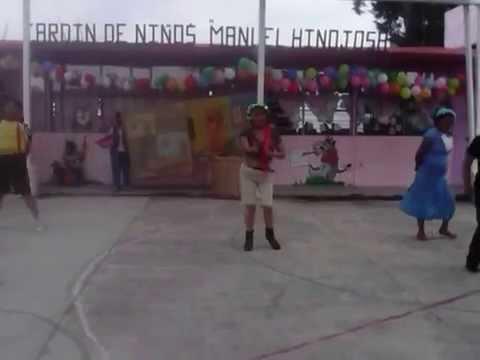 DÌA DEL NIÑO EN EL JARDÍN  PARA NIÑOS Y NIÑAS MANUEL   HINOJOSA