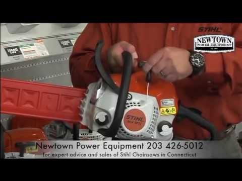 Connecticut Stihl Dealer Choosing The Right Chainsaw Newtown Power Equipment CT