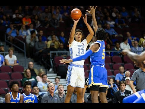 UNC Men's Basketball: Carolina Tops UCLA in Las Vegas, 94-78