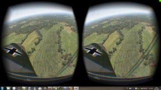 War Thunder Oculus Rift DK2 bf109 f-2 vs P-51