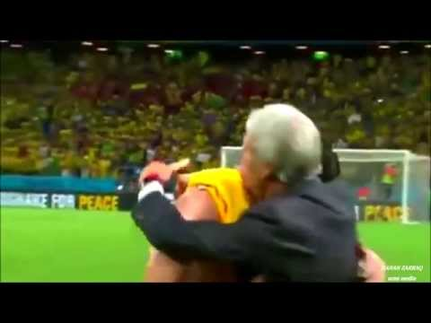 emotional and sad moments of the world cup 2014