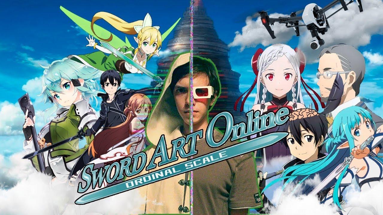 Sword Art Online - Бомбящее издание (Обзор на фильм SAO - Ordinal scale) фильм о всякой хрени