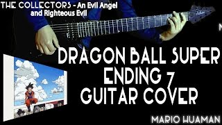 dragon ball sper ending 7 cover the collector an evil angel and righteous evil