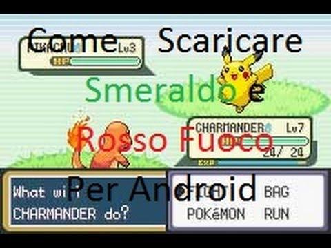 pokemon rosso fuoco per android