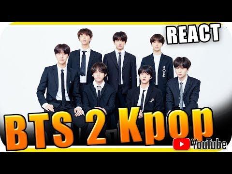 BTS 2 Kpop - JUNGKOOK V JIMIN JIN - Marcio Guerra Reagindo React Reação