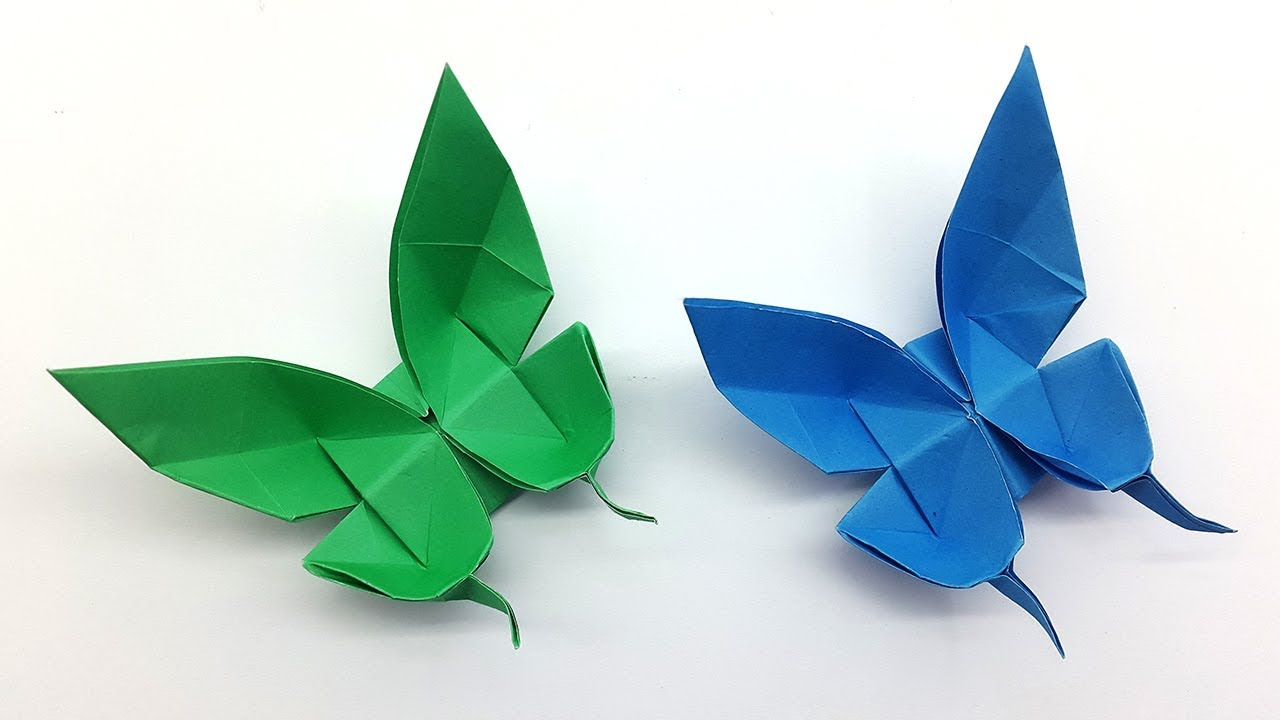how to make tissue paper butterflies step by step