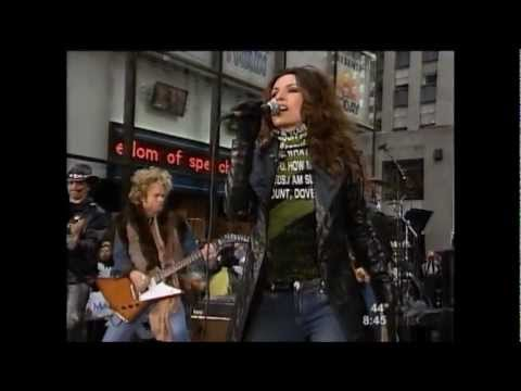SHANIA: performing IM GONNA GETCHA GOOD! and UP:! New York City, November 26th, 2002: