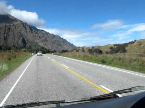 drive from queenstown to invercargill new zealand youtube. Black Bedroom Furniture Sets. Home Design Ideas