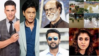 List of celebrities who donated lakhs and crores of money for Kerala flood relief