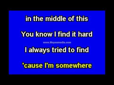 Dishwalla   Somewhere In The Middle TH HD Karaoke PK02450