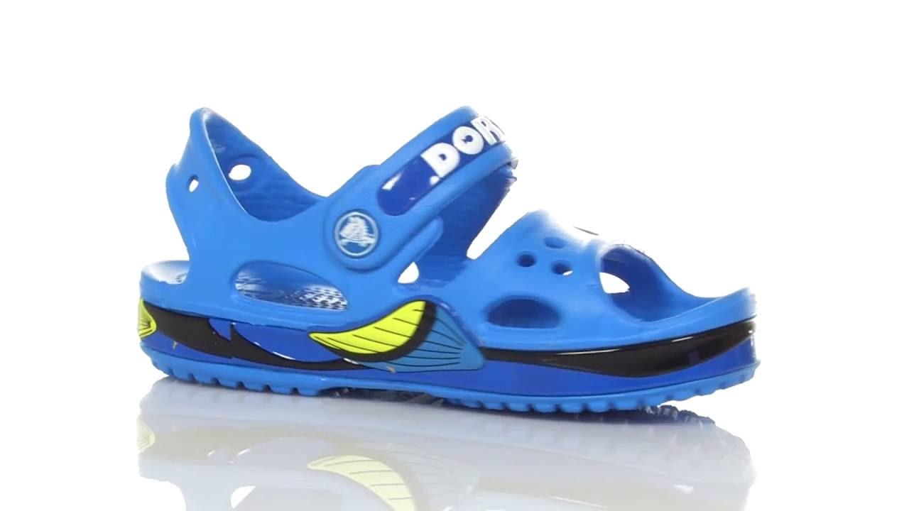 83683e640 Crocs Kids Crocband II Finding Dory Sandal (Toddler Little Kid) SKU 8655283