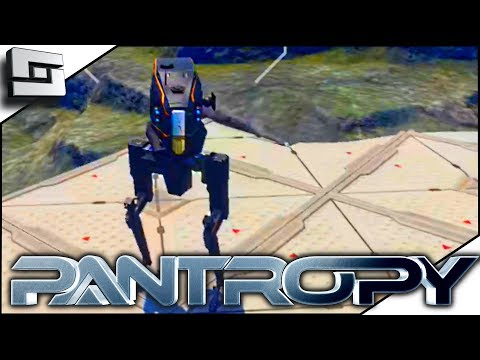 Pantropy - SCOUT MECH AND DRONEl! Pantropy Multiplayer Gameplay