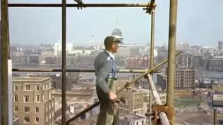 Scaffolding in the 1950s and 1960s