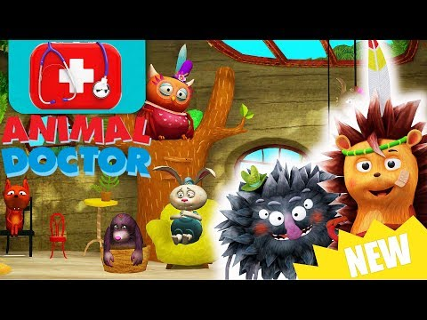 ANIMAL DOCTOR in Forest Hospital: Little Fox | funny education video for kids