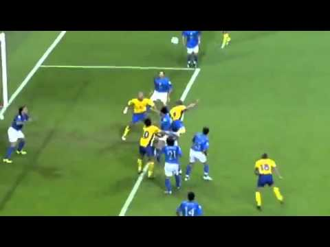 Zlatan Ibrahimovic goal (vs Italia) - 18/06/2004