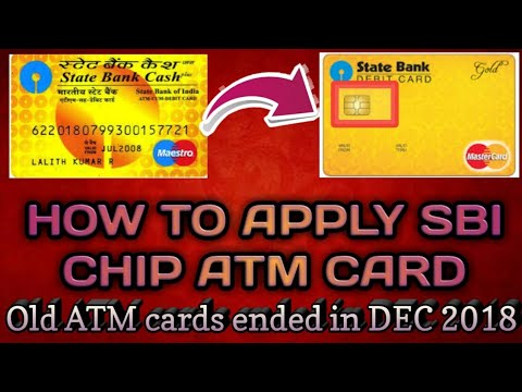 HOW TO CONVERT MAGSTRIP ATM CARD TO EMV CHIP DEBIT CARDS IN NETBANKING