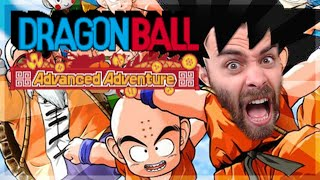 WORST DRAGON BALL GAME?! | DragonBall Advanced Adventure w/ ShadyPenguinn gameplay