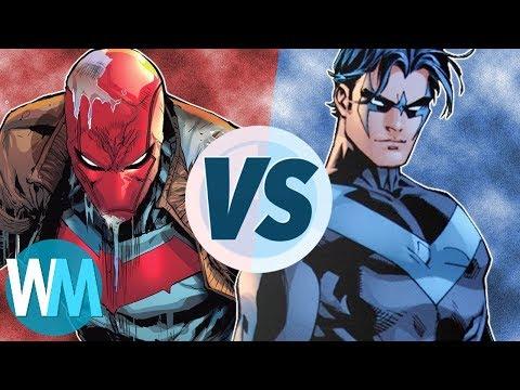 Nightwing VS Red Hood