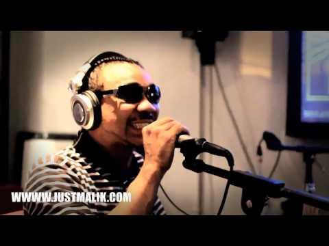 Just Malik at Urban Latino Radio on the Front Stage Radio Show
