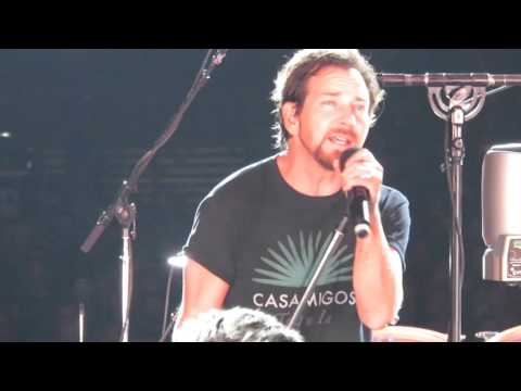 Pearl Jam - Last Kiss - MSG - May 2 2016