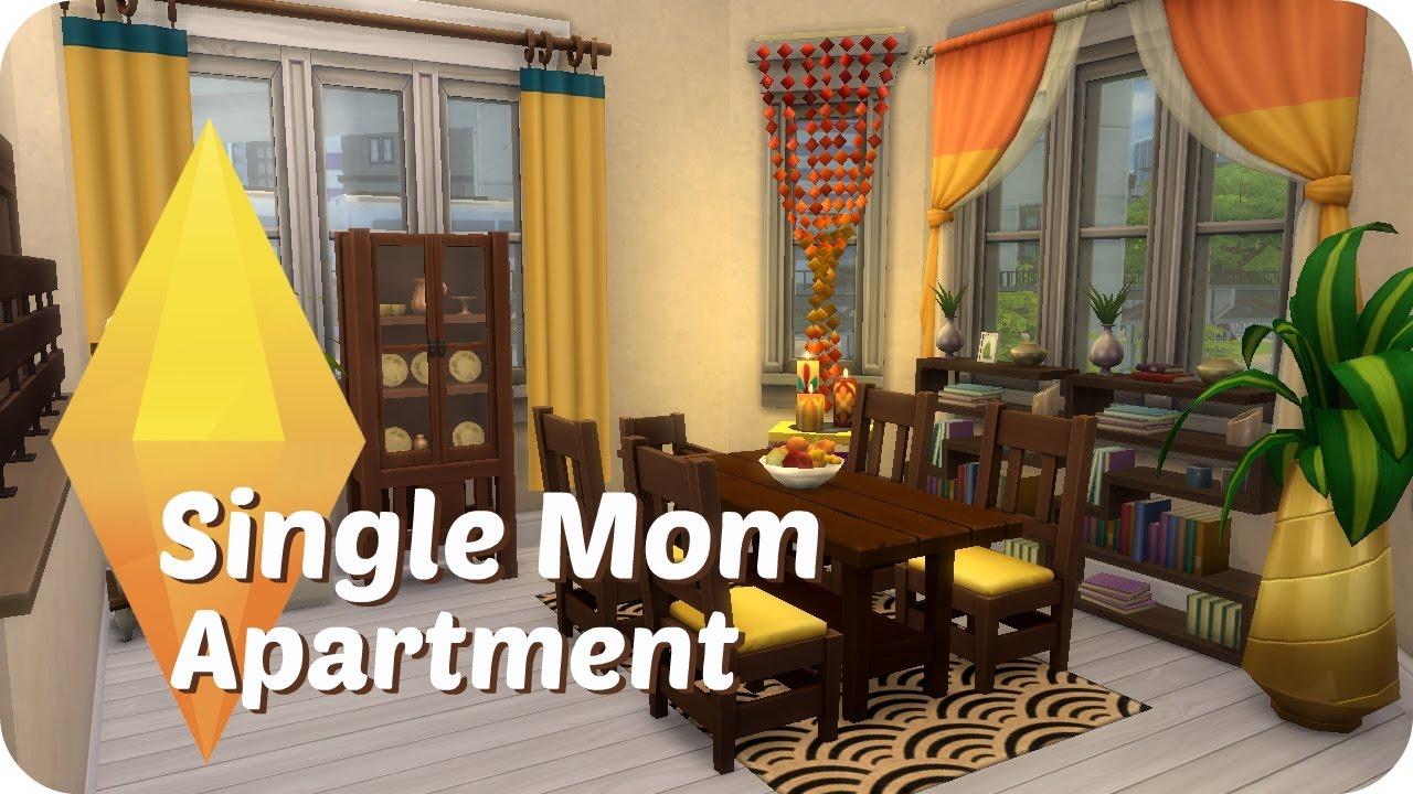 Sims 4 Sd Build Single Mom Apartment